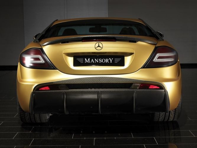 Mansory Mercedes-Benz SLR McLaren Renovatio modified wallpaper