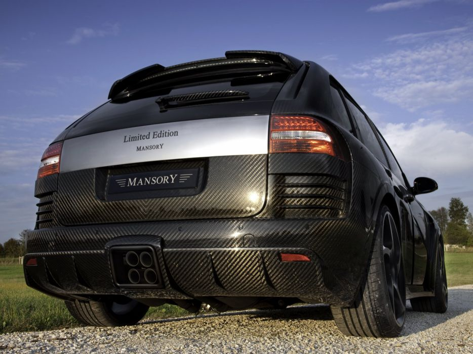 Mansory Porsche Cayenne Chopster Limited Edition modified cars wallpaper