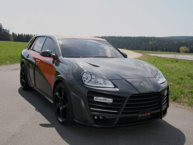 Mansory Porsche Cayenne Chopster modified cars wallpaper