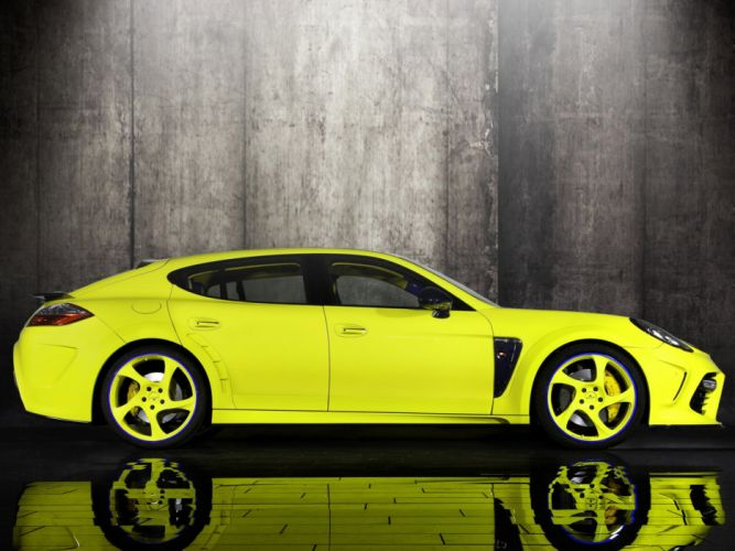 Mansory Porsche Panamera Turbo modified cars wallpaper