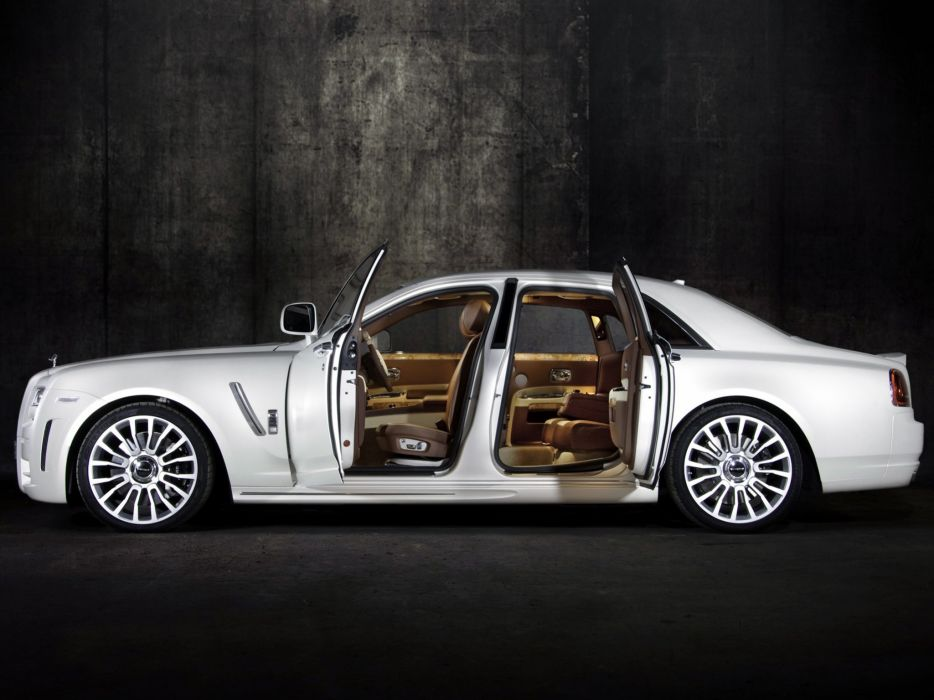 Mansory Rolls-Royce White Ghost Limited modified cars wallpaper