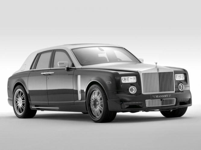 Mansory Rolls-Royce Phantom Conquistador modified cars wallpaper