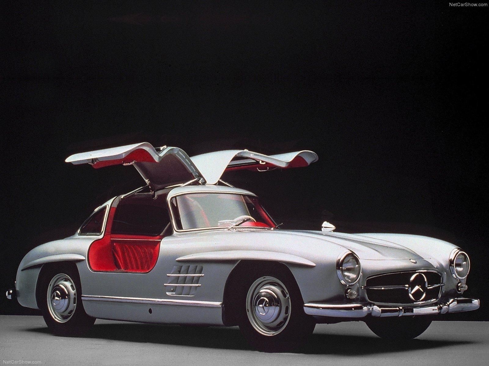 Mercedes-Benz 300-SL Gullwing classic cars 1954 wallpaper ...