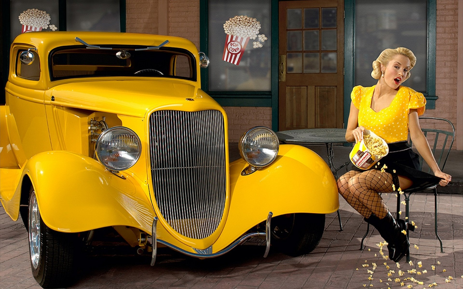 Wallpaper : model, long hair, car, vehicle, women with