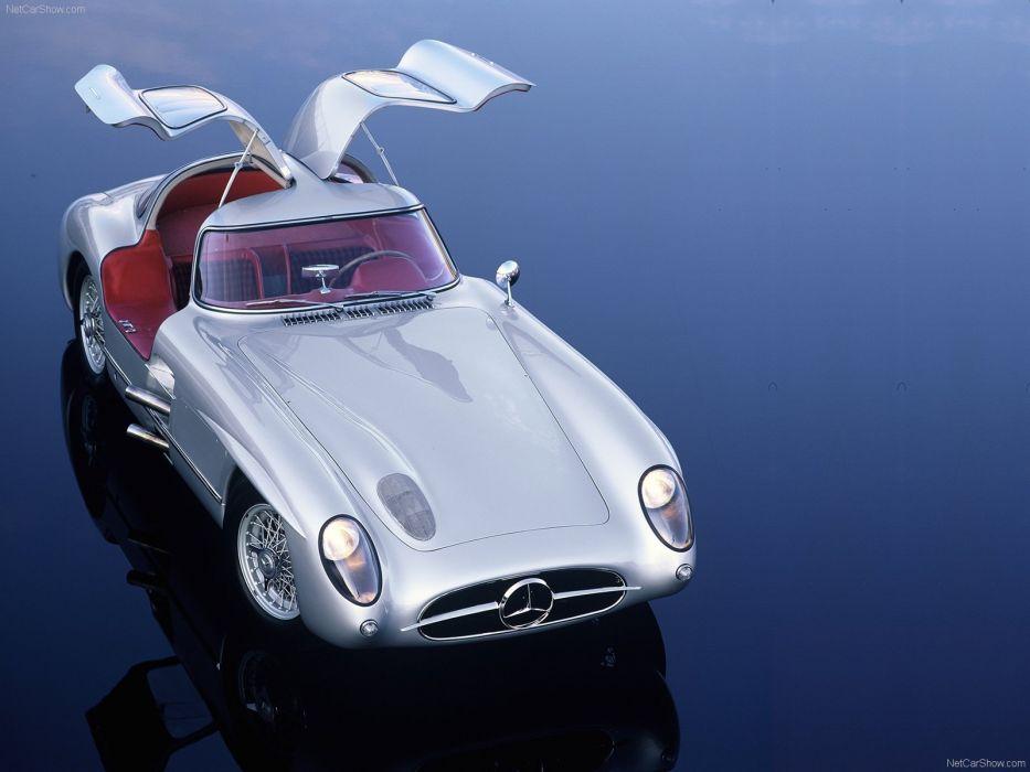 Mercedes-Benz 300-SLR COUPE classic cars 1955 wallpaper