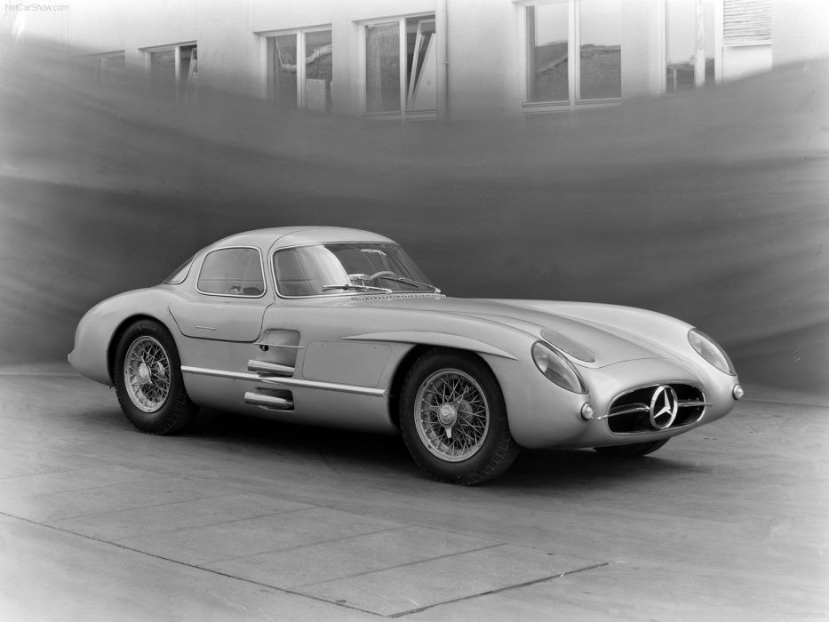 Mercedes-Benz 300-SLR COUPE classic cars 1955 wallpaper