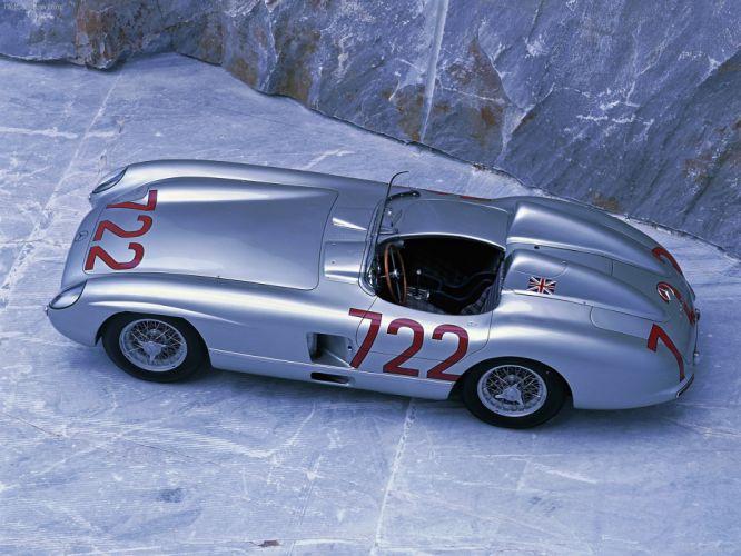 Mercedes-Benz 300-SLR classic cars 1955 wallpaper