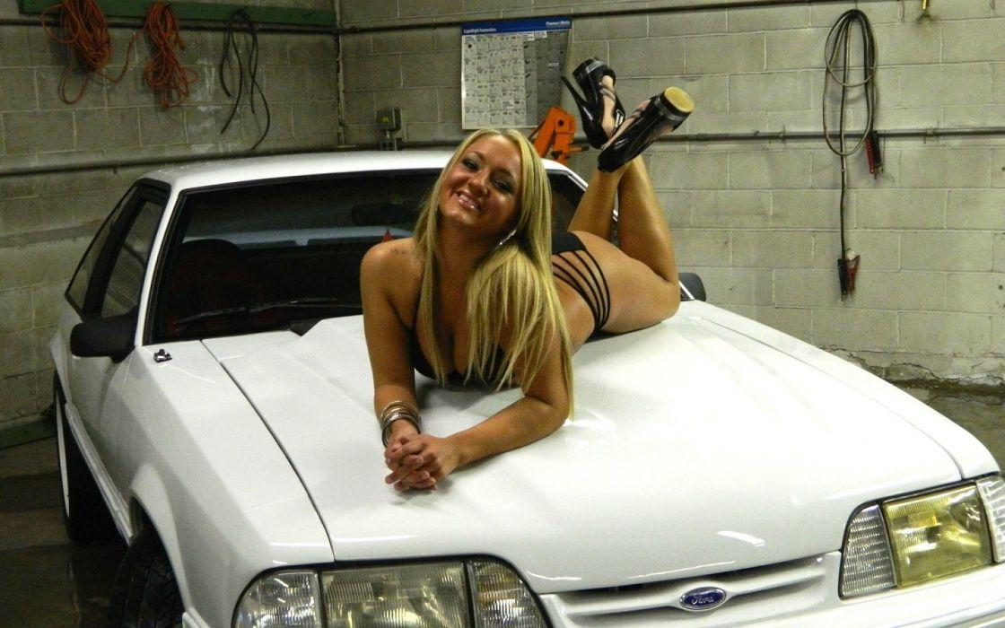 car girl cars girl model models custom sexy babe woman women female style wallpaper