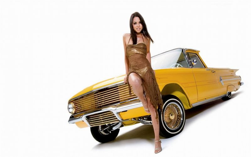 car girl cars girl model models custom sexy babe woman women female style wallpaper