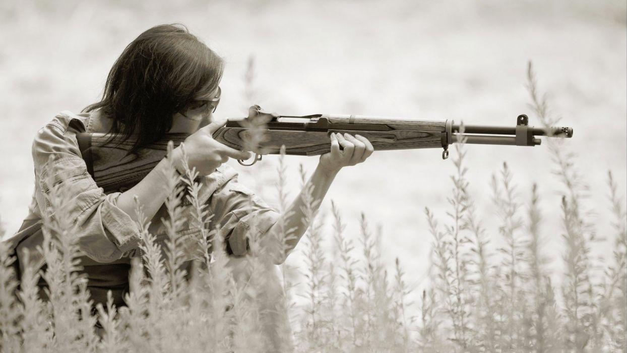 girls guns weapon gun sexy babe fetish girl girls women woman female warrior shooter action rifle assault miltary pistol handgun wallpaper
