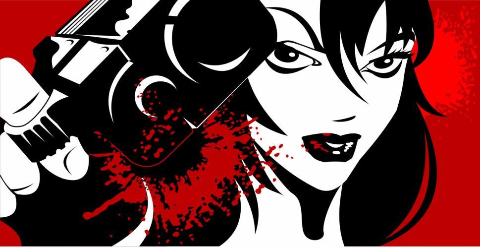 girls guns weapon gun sexy babe fetish girl girls women woman female warrior shooter action dark blood pistol handgun wallpaper