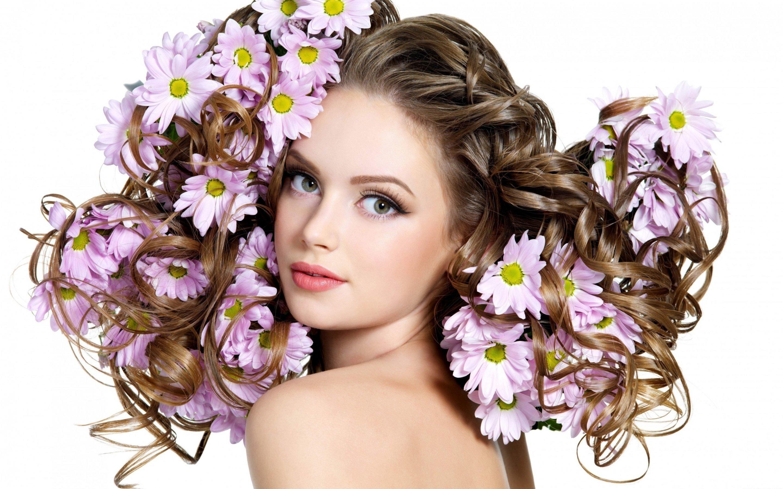 Hair Model Woman Women Models Style Beauty Fashion Girl Girls Eye Eyes Wallpaper 2880x1800