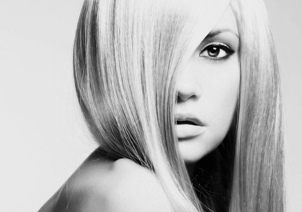 hair model woman women models style beauty fashion girl girls eye eyes wallpaper