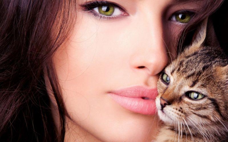 eye eyes face model models women female girl girls bokeh mood wallpaper
