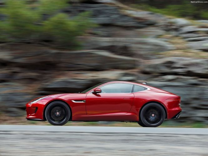 2016 awd coupe F-Type jaguar US-spec wallpaper