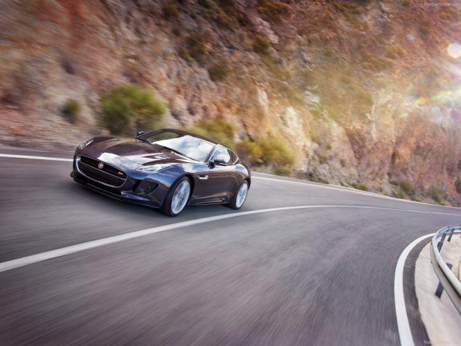 2016 awd coupe F-Type jaguar US-spec wallpaper