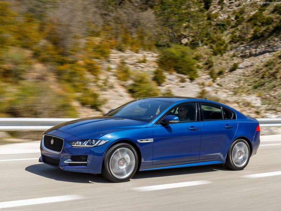 Jaguar-XE 2-litres diesel cars sedan 2016 wallpaper