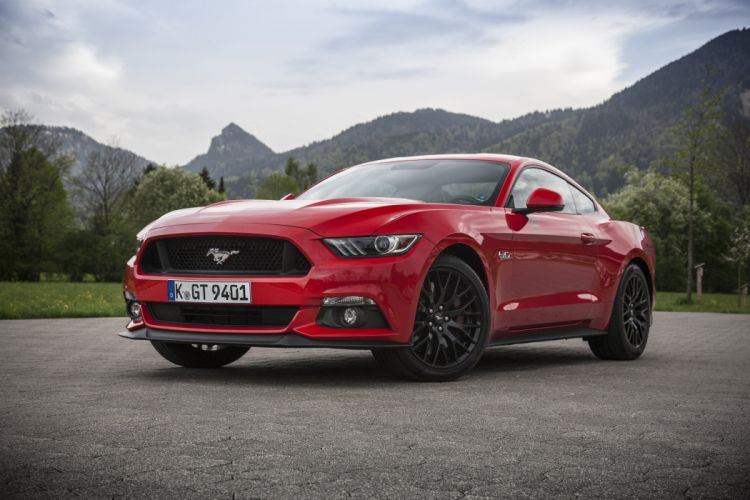 Ford Mustang-GT Fastback EU-spec coupe cars 2015 wallpaper