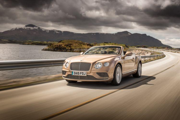 Bentley Continental-GT Convertible cars 2015 wallpaper
