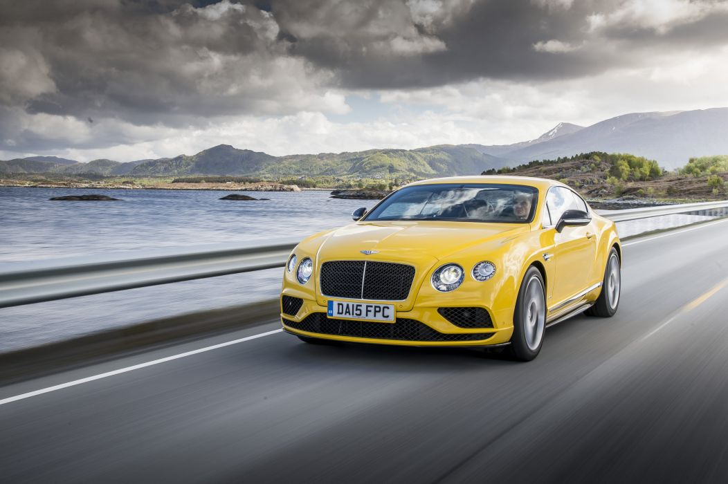 Bentley Continental-GT v8-s coupe cars 2015 wallpaper