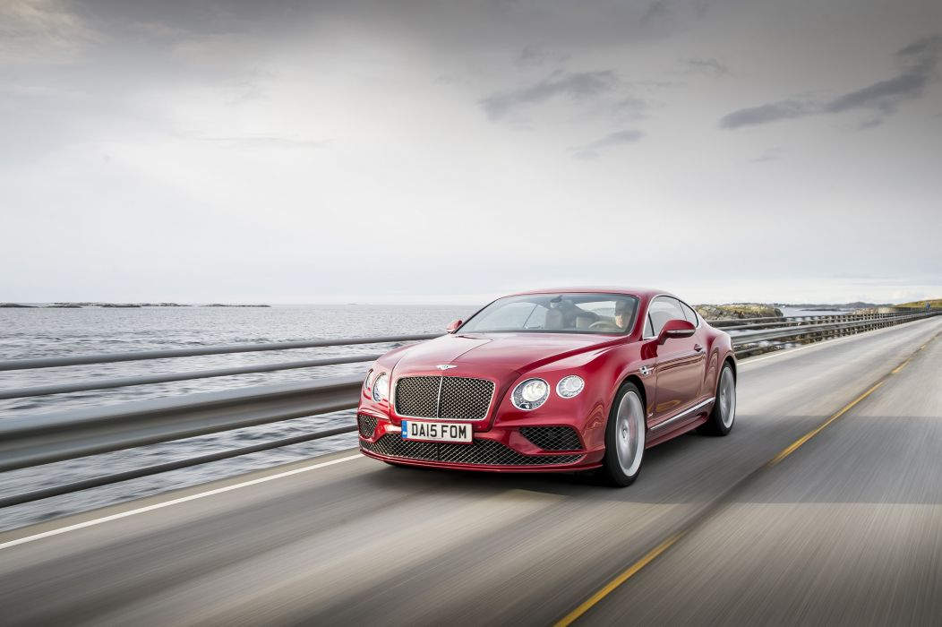 Bentley Continental-GT Speed coupe cars 2015 wallpaper