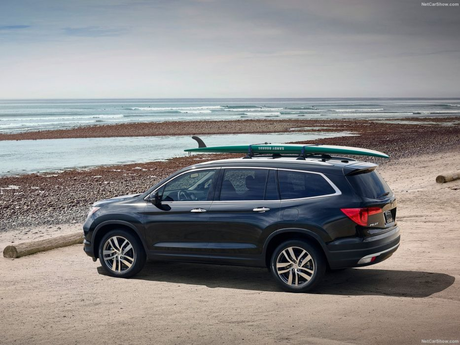 2016 cars Honda pilot suv wallpaper