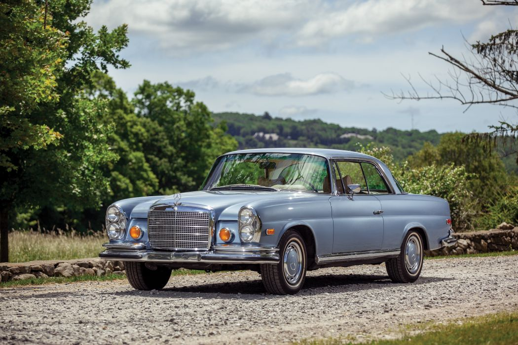 Mercedes-Benz 280-SE 3L5 Coupe US-spec W111 cars 1969 wallpaper