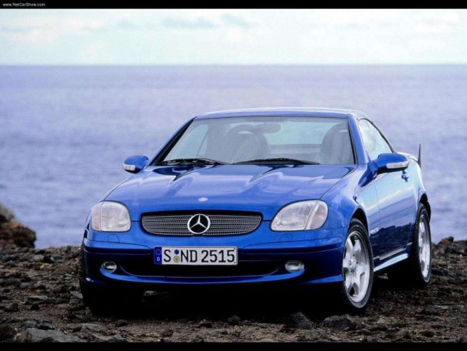 Mercedes-Benz SLK-200 roadster cars 2000 Kompressor wallpaper