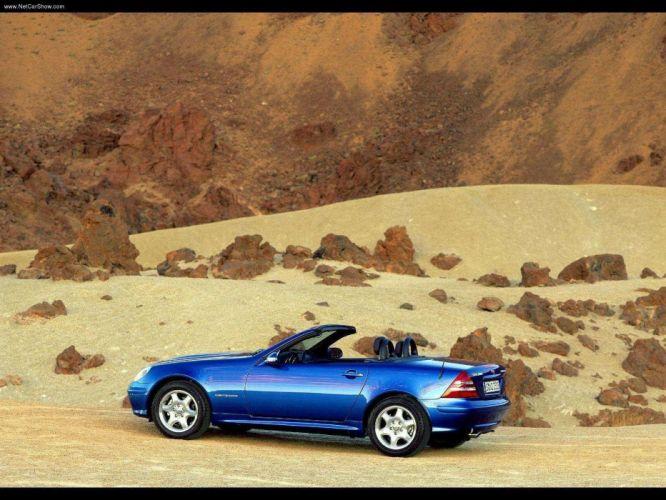 Mercedes-Benz SLK-200 roadster cars 2000 Kompressor wallpaper