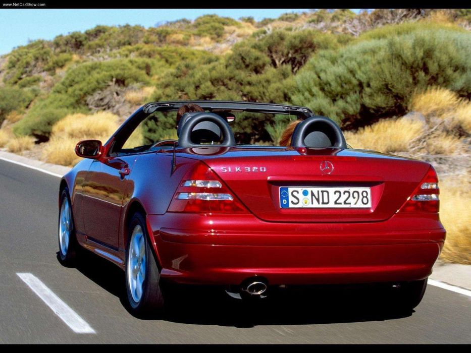 Mercedes-Benz SLK-320 roadster cars 2000 Kompressor wallpaper