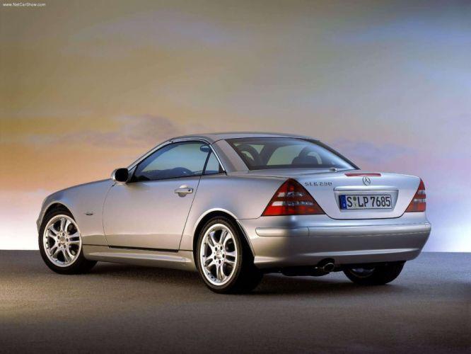 Mercedes-Benz CLK-230 Cabriolet Final Edition cars 2003 wallpaper