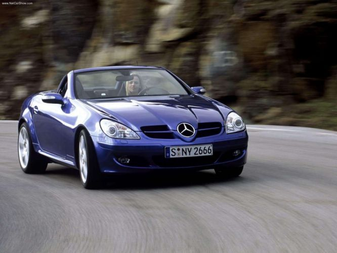 Mercedes-Benz CLK-350 Prototype Cabriolet Final Edition cars 2004 wallpaper