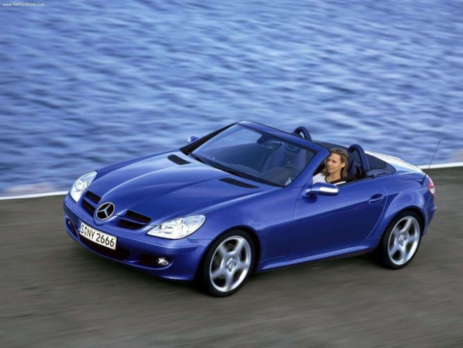 Mercedes-Benz CLK-350 Prototype Cabriolet Final Edition cars 2004 wallpaper