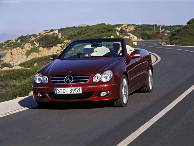 Mercedes-Benz CLK-320 CDI Cabriolet Avantgarde cars 2004 wallpaper