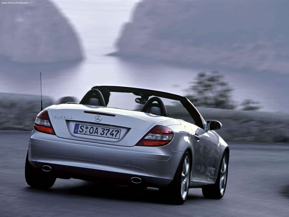 Mercedes-Benz SLK-200 Kompressor cabriolet cars 2005 wallpaper