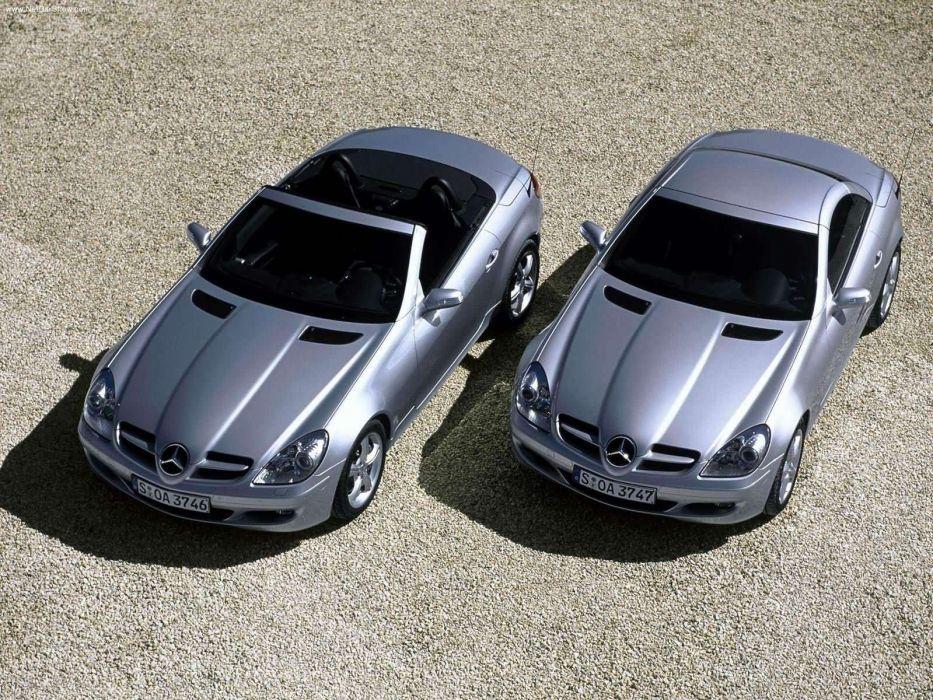 Mercedes-Benz SLK-200 Kompressor cabriolet cars 2005 wallpaper