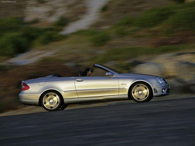 Mercedes-Benz CLK-63 AMG Cabriolet cars 2006 wallpaper