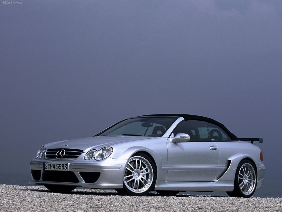 Mercedes-Benz CLK DTM AMG Cabriolet cars 2006 wallpaper