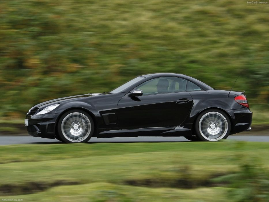 Mercedes-Benz SLK-55 AMG Black Series Cabriolet cars 2007 wallpaper