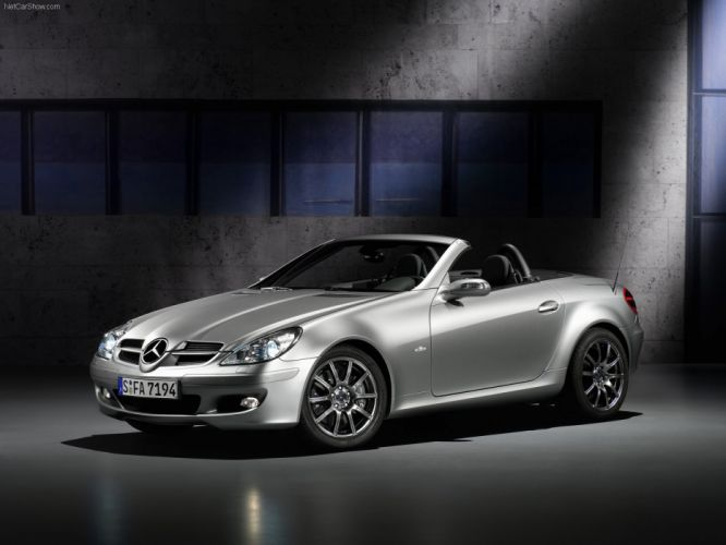 Mercedes-Benz SLK Edition-10 Cabriolet cars 2007 wallpaper