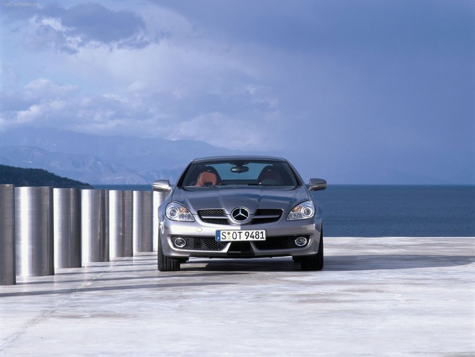 Mercedes-Benz SLK-200 Cabriolet cars 2008 wallpaper