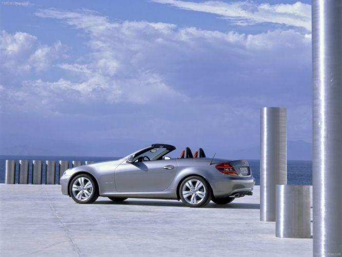 Mercedes-Benz SLK-200 Cabriolet cars 2008 wallpaper