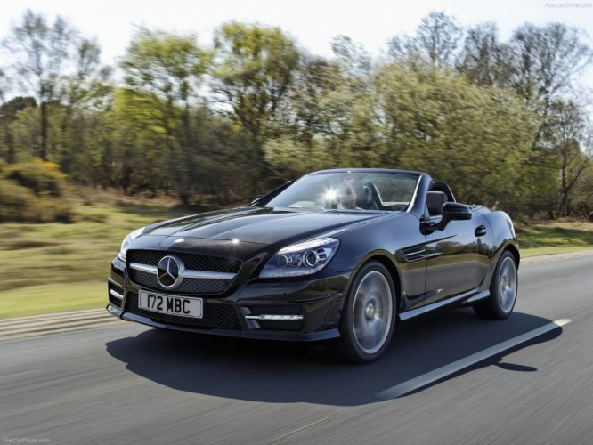 Mercedes-Benz SLK-250 CDI Cabriolet cars 2012 wallpaper