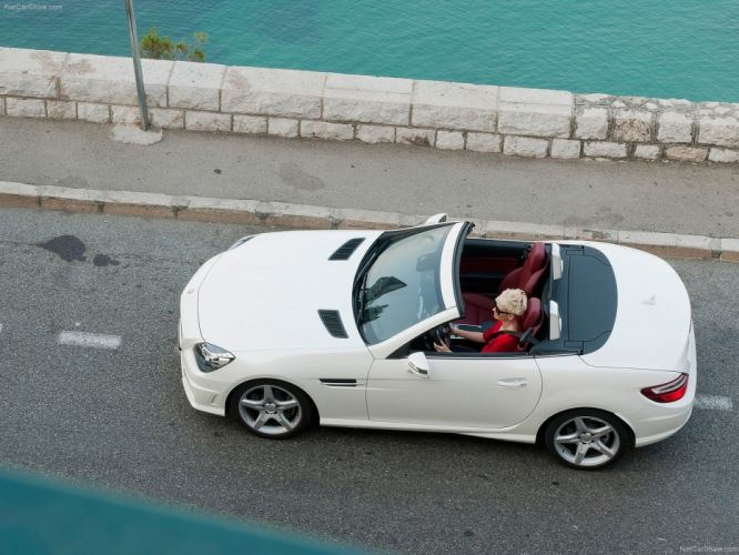 Mercedes-Benz SLK-250 CDI Cabriolet cars 2012 wallpaper