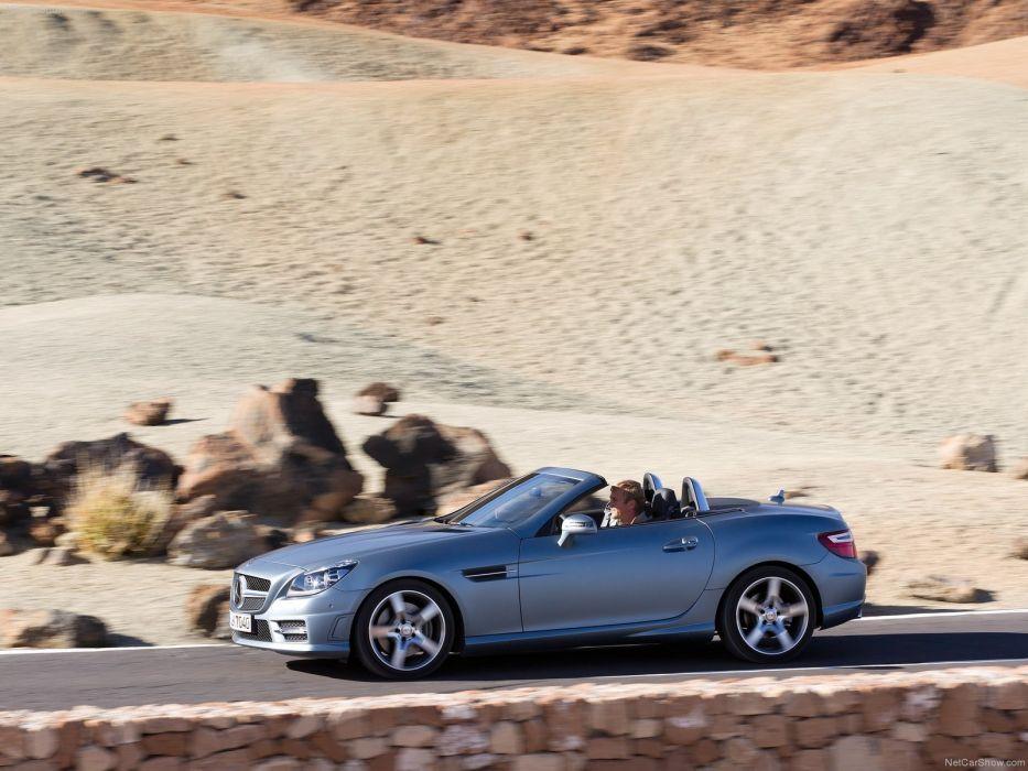 Mercedes-Benz SLK-350 Cabriolet cars 2012 wallpaper