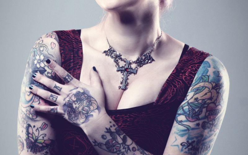 tattoo tattoos art artwork girl girls women woman female sexy babe fetish adult wallpaper