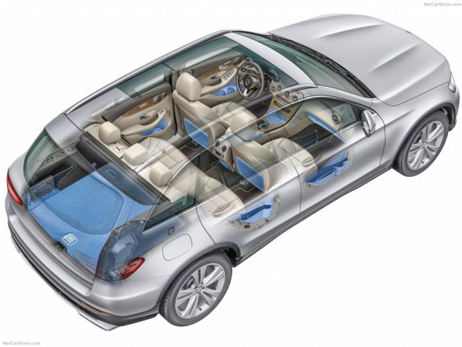 Mercedes-Benz GLC suv cars 2016 cutaway wallpaper
