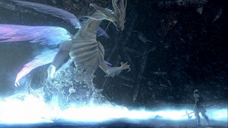 DARK SOULS fantasy action fighting warrior battle technical artwork 1dsouls exploration stealth f wallpaper