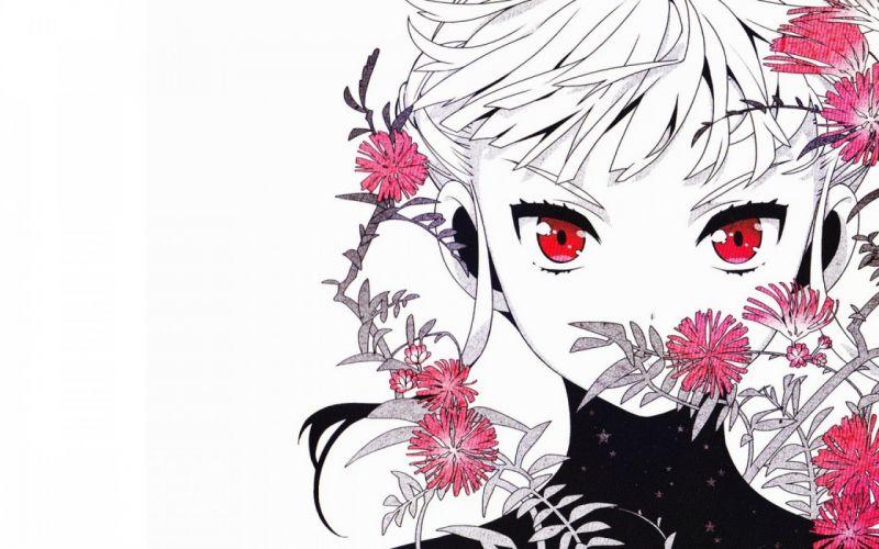 euphoria manaka nemu art girl face wallpaper