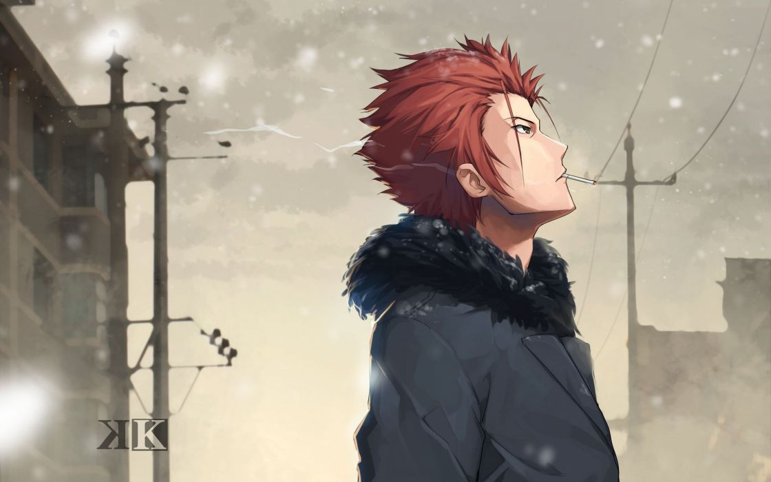 anime series character K Project Snow wallpaper